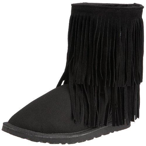 Koolaburra Women's Double Fringe Short Boot