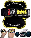 Buy 3 & Get 1 FREE! Best Lifting Grips by Grip Power Pads® PRO | The Alternative To Gym Gloves | Workout Gloves No-Slip Padded Gloves Bodybuilding | Workout Grip Pad