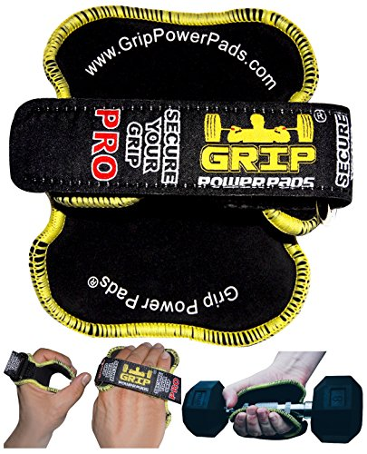Best Lifting Grips by GRIP POWER PADS® - The Alternative To Gym Workout  Gloves  78931da86e2c9