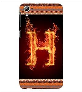 PrintDhaba GRANDbet H D-2535 Back Case Cover for HTC DESIRE 826 (Multi-Coloured)