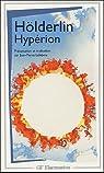 Hyp�rion ou l'ermite de Gr�ce par H�lderlin