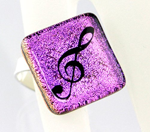 Ring-Violinschlssel-Notenschlssel-Schnes-Geschenk-fr-Musikerinnen-mit-Geschenkverpackung