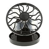 Tragbar Mini-Solar-Fan Sonnenenergie Hand Ventilator für Angeln Camping Wandern