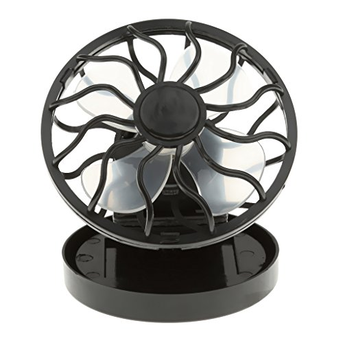 Mini Clip-on Solar Cell Fan Travel Camping Sun Power Energy Panel Outdoor Cooling Cooler (Portable Solar Fan compare prices)