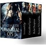 Immortal Ops Box Set Books 1-4 (Shifter Romances) (English Edition)