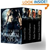 Immortal Ops Box Set Books 1-4 (Shifter Romances)