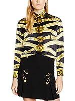 Versace Camisa Mujer (Negro / Dorado)