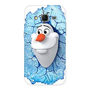 Gorgeous Snowy Olfa Multicolor Back Case Cover for Galaxy Core Prime