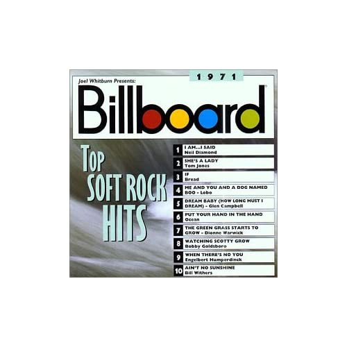 Amazon.com: Various Artists: Billboard Soft Rock Hits 1971: Music