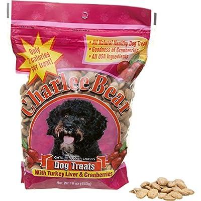 Charlee Bear Dog Trea, Liver/Cran