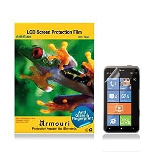 armouri HTC Titan Matte Anti Glare / Anti Fingerprint Screen Protector - 2 Pack