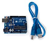 2012 Latest Funduino UNO R3 Development Board Microcontroller w/Free USB Cable Compatible Arduino UNO R3
