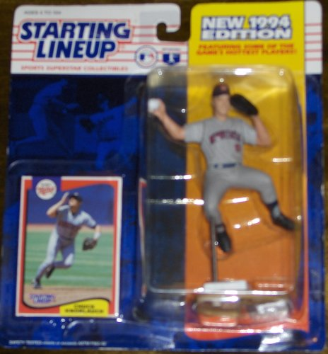 1994 - Kenner - Starting Lineup - MLB - Chuck Knoblauch #11 - Minnesota Twins - Vintage Action Figure - w/ Trading Card - Limited Edition - Collectible - 1