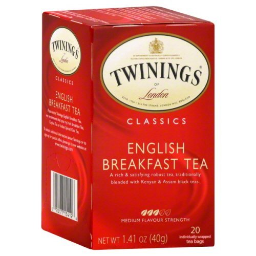 Twinings English Breakfast Tea (6X20 Bags)