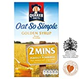 Quaker Oat So Simple Golden Syrup (10 per pack - 360g)