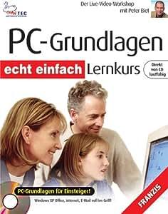 PC Grundlagen Lernkurs, 1 CD-ROM Der Live-Video-Workshop. PC-Grundlagen für Einsteiger! Windows XP Office, Internet, E-Mail voll im Griff!. Für Windows 95/98/2000/ME/XP