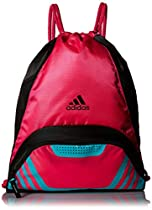 adidas Team Speed II Sackpack, Shock Pink/Shock Mint, One Size