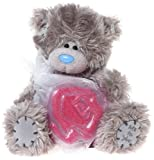 Me to You 6-inch Tatty Teddy Bear and Rose Shaped Soap Gift Set (Grey)