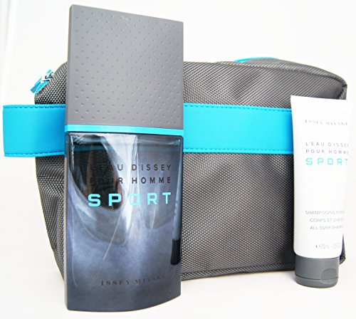 SET L'EAU D'ISSEY PH SPORT 100ML+A/S 75ML+NECESER