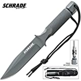 Schrade SCHF2SM Extreme Survival Fixed Blade Knife with Bit Set