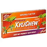 XyliChew Sugar Free Chewing Gum, Cinnamon, 12-Count Packages (Pack of 24) ~ Xylichew