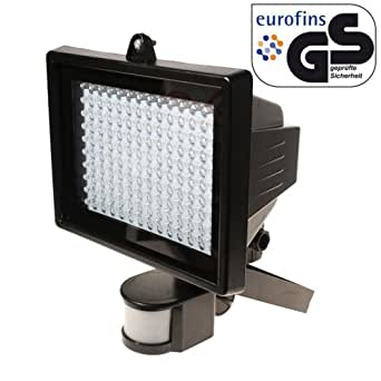 Led pir security light b&q