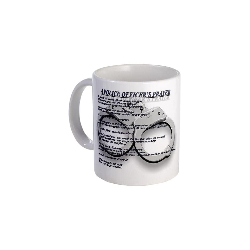 A POLICE OFFICERS PRAYER Mug Mug by