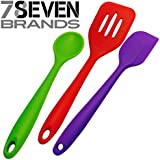 3 Piece HIGH END Silicone Kitchen Ware Set. (1) Slotted Spatula Turner. (1) Spoon, and (1) Spatula. SUPER VALUE!