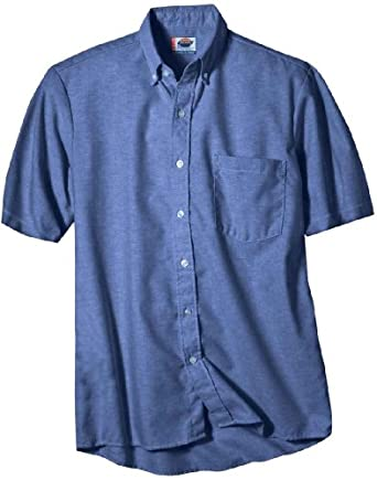 Dickies occupational workwear ss46fb 145 for French blue oxford shirt