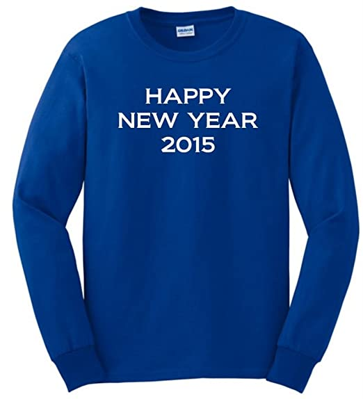 Happy New Year 2015 Long Sleeve T-Shirt
