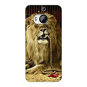 Delighted Dude Lion Multicolor Back Case Cover for HTC One M9 Plus