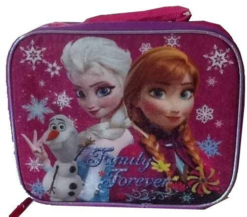 "Disney Frozen Forever Family 8"" Lunch Bag - 1"