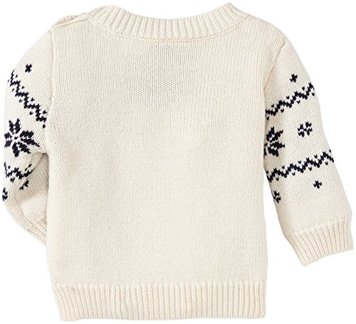 Petit Bateau Baby Boys' Printed Sweater (Baby) - Cream / Multicolor - 12 Months