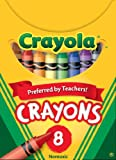 Crayola Classic Color Pack Crayons, Tuck Box, 8 Colors Box (52-0008)