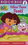 img - for Follow Those Feet! (Dora the Explorer Ready-to-Read, Level 1) book / textbook / text book