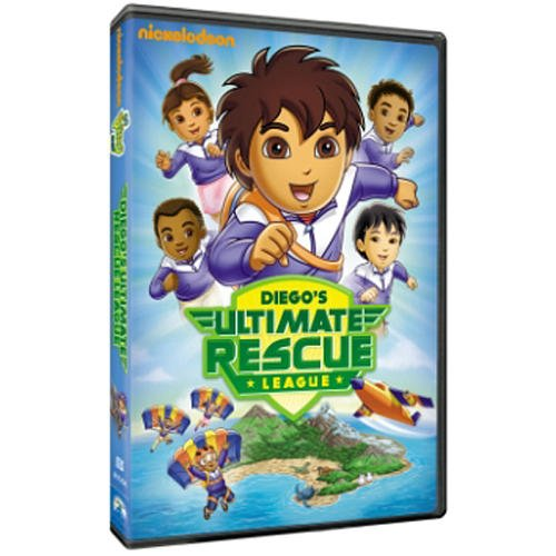 Go Diego Go!: Diego'S Ultimate Rescue League Dvd