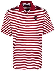 Oxford NCAA South Carolina Fighting Gamecocks Mens Bar Stripe Golf Polo by Oxford