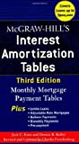 img - for McGraw-Hill's Interest Amortization Tables, Third Edition Paperback March 16, 2006 book / textbook / text book