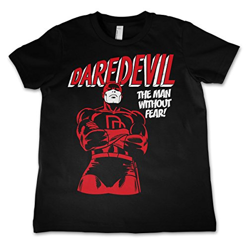 Officially-Licensed-Merchandise-Daredevil-Unisex-Kids-T-Shirts-Ages-3-12-Years