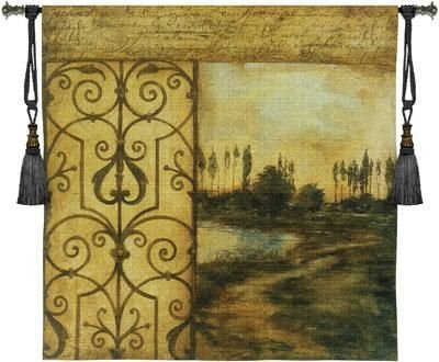 Tapestry Wall Hanging Written On The Wind II [Kitchen]