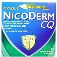NicoDerm CQ Opaque Nicotine Patch 21 milligram (Step 1) Stop Smoking Aid 14 count