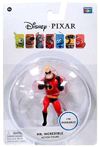 Disney / Pixar The Incredibles 3.75 Inch Action Figure Mr. Incredible