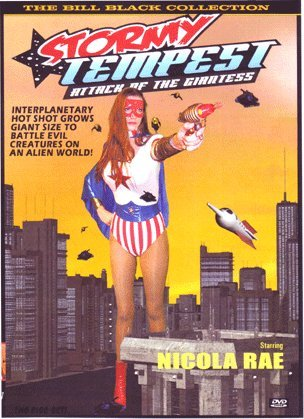 Stormy Tempest: Attack of the Giantess DVD