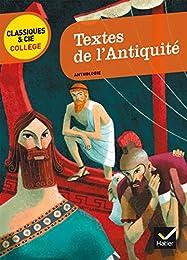 Textes de l'Antiquité