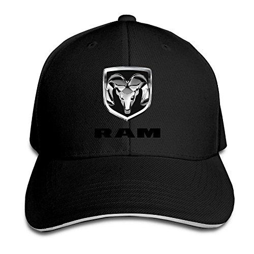 hittings-bang-dodge-ram-logo-sandwich-baseball-cap-hats-black