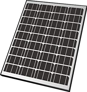 Nature Power 50082 85-Watt Monocrystalline Solar Powered 12-Volt Battery Charger from Nature Power