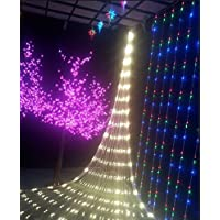 9.8ft x 6.5ft Christmas Party Decoration Mesh Net Waterproof LED String Lights (Multiple Colors & Sizes)