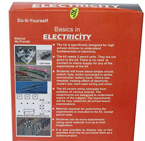 Buy basics in electricity do it yourself diy working model do it yourself diy working model educational learning toy solutioingenieria Gallery