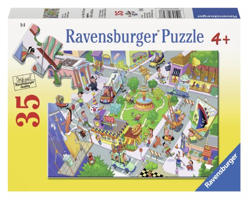 Ravensburger Busy City Puzzle (35-Piece) - 1