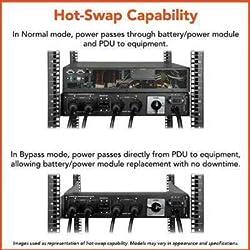 Tripp Lite SU6000RT4U SmartOnline 6kVA UPS Rack/Tower Puresine 6kVA 120-240V 12-Outlet